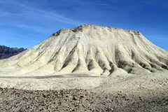 USA, Calif.: Death Valley - badlands  Royalty Free Stock Image