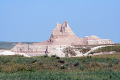 Rock Formation, Badlands National Park Stock Images