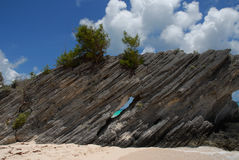 Rock formation in Bermuda Royalty Free Stock Image