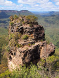 Rock Formation, Blue Mountains, Australia Royalty Free Stock Image