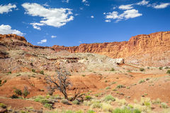Rock formation in Capitol Reef National Park, USA Royalty Free Stock Images