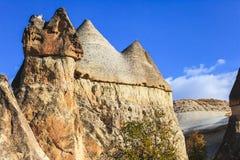 Rock formation at cappadocia Royalty Free Stock Images