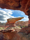 Rock formation from Carsland Royalty Free Stock Photo