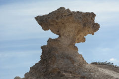 Rock formation in the desert Stock Photo