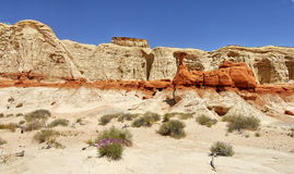 Rock formation in the desert. Rock formation. Grand Staircase-Escalante National Monument Stock Images