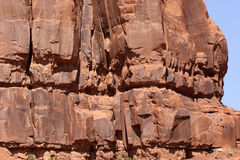 Rock Formation Details Stock Photography