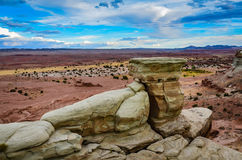 Rock Formation - Early Castle Valley - Utah Royalty Free Stock Image