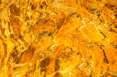 Rock Formation in Fall Golden Light Royalty Free Stock Photo