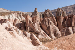 Rock formation in Göreme Royalty Free Stock Photo