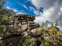 Rock Formation in Halls Gap, Grampians Stock Photography