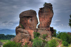 Rock formation hdr Royalty Free Stock Images