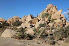 Rock Formation at Hidden Valley Trail in Joshua Tree National Park. California Stock Photos