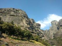 Free Rock Formation In Meteora , Kalabaka Greece Royalty Free Stock Photo - 160632895