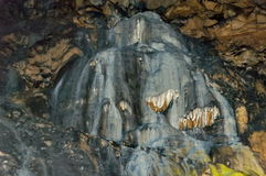 Rock formation inside the cave Magura near  village Rabisha Royalty Free Stock Images