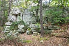 Rock Formation Minnewaska Royalty Free Stock Photos