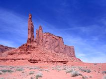 Rock formation in the Monument Valley Royalty Free Stock Images
