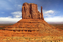 Rock formation in monument valley Stock Image