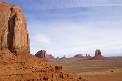 Rock Formation in Monument Valley Stock Photo