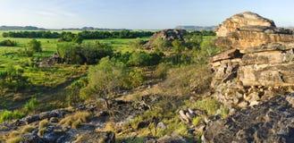 Rock formation near Ubirr royalty free stock photography