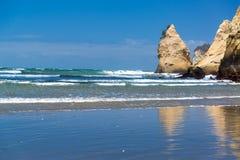 Rock Formation in Ocean Stock Image