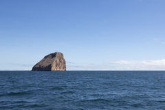 Rock formation in the Pacific Ocean, Galapagos Royalty Free Stock Images