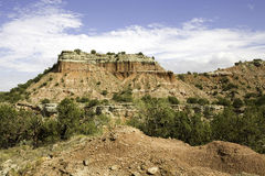 Rock Formation at Palo Duro Canyon Royalty Free Stock Image