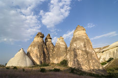 Rock Formation Pasabagi Cappadocia, Turkey Stock Images