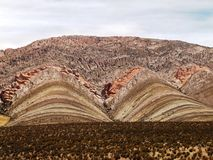 Rock formation. Peru, South America Stock Photography