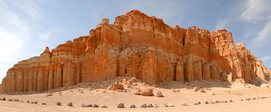 Rock formation in the Red Rock area of California Stock Photography