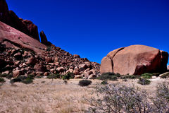 Rock formation at Spitzkoppe, Namibia Stock Photos