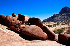 Rock formation at Spitzkoppe, Namibia Royalty Free Stock Photography
