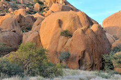 Rock formation at Spitzkoppe Royalty Free Stock Photography