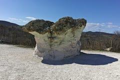 Rock formation The Stone Mushrooms, Bulgaria stock photography