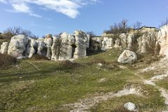 Rock Formation Stone Wedding, Bulgaria. Rock Formation Stone Wedding near town of Kardzhali, Bulgaria stock photos