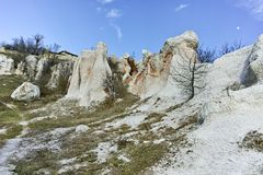 Rock Formation Stone Wedding, Bulgaria. Rock Formation Stone Wedding near town of Kardzhali, Bulgaria royalty free stock image