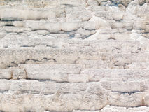 Mammoth Hot Springs Limestone Terraces Royalty Free Stock Photos