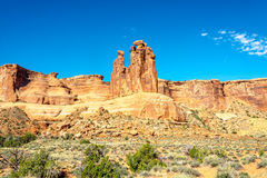 Rock Formation Three Gossips Stock Photo