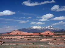 Rock formation in Utah Stock Photos