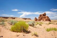 Rock Formation in Utah Desert Stock Photos