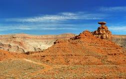 Rock formation in Utah landscape Stock Image