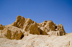 Rock Formation, Valley of the Queens, Egypt Royalty Free Stock Images