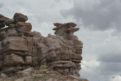 Rock formations Stock Images
