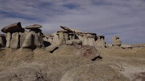 Rock formations at the Ah-shi-sle-pah Wash, Wilderness Study Area, New Mexico