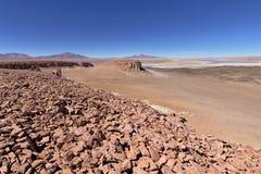 Rock formations. In the Atacama desert Stock Images
