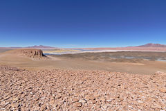 Rock formations. In the Atacama desert Royalty Free Stock Photos
