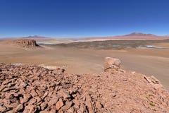 Rock formations. In the Atacama desert Stock Photography