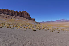 Rock formations. In the Atacama desert Stock Photos