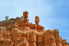 Rock Formations in Bryce Canyon Royalty Free Stock Images