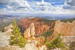 Rock formations in Bryce Canyon National Park, USA. Stock Photography
