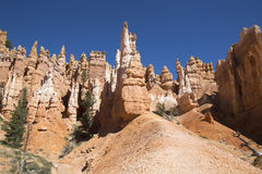 Rock formations in Bryce Canyon National Park, Utah Stock Photos